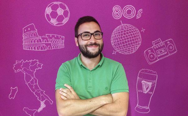 """Um """"ragazzo"""" do sul de Itália a descobrir a Europa"""