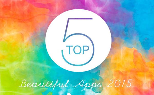 O Top 5 Beautiful Apps de 2015