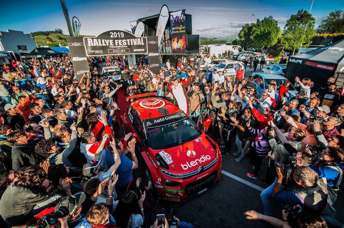Presentación Oficial del Rallye Festival Hoznayo en FITUR