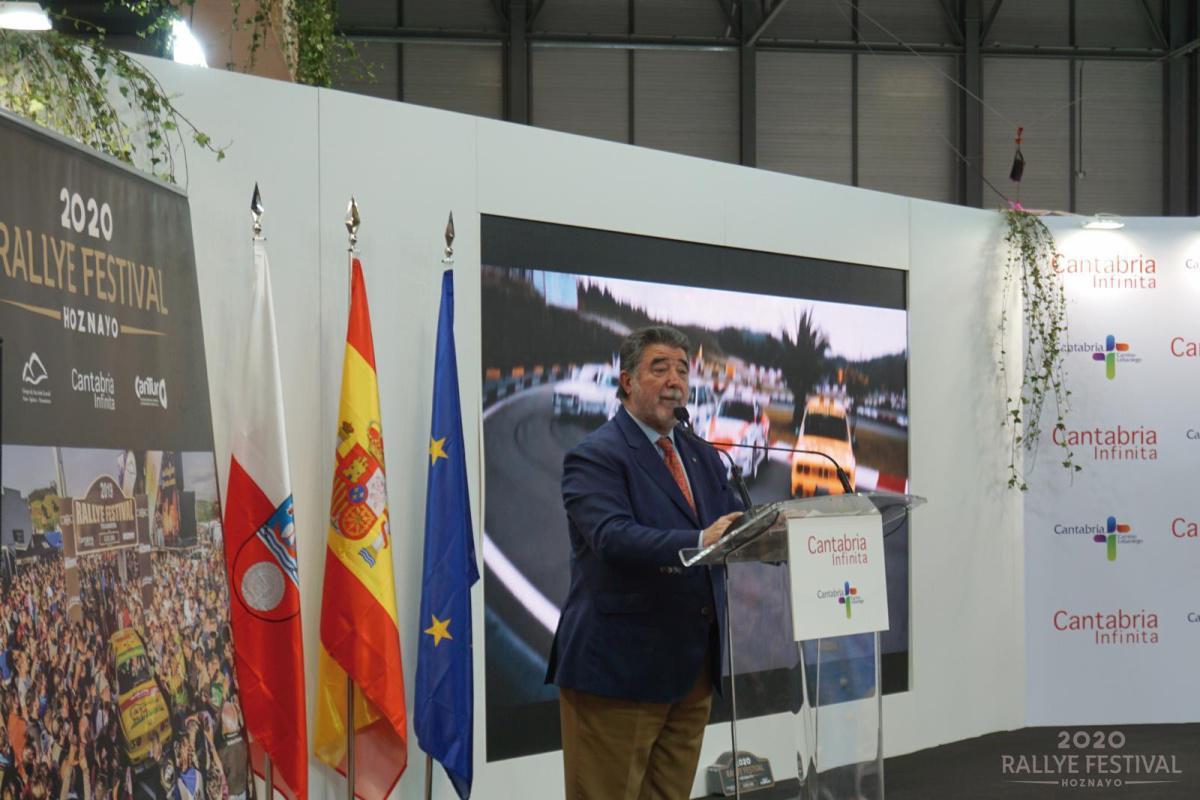 Presentación Rallye Festival Hoznayo 2020 en Fitur