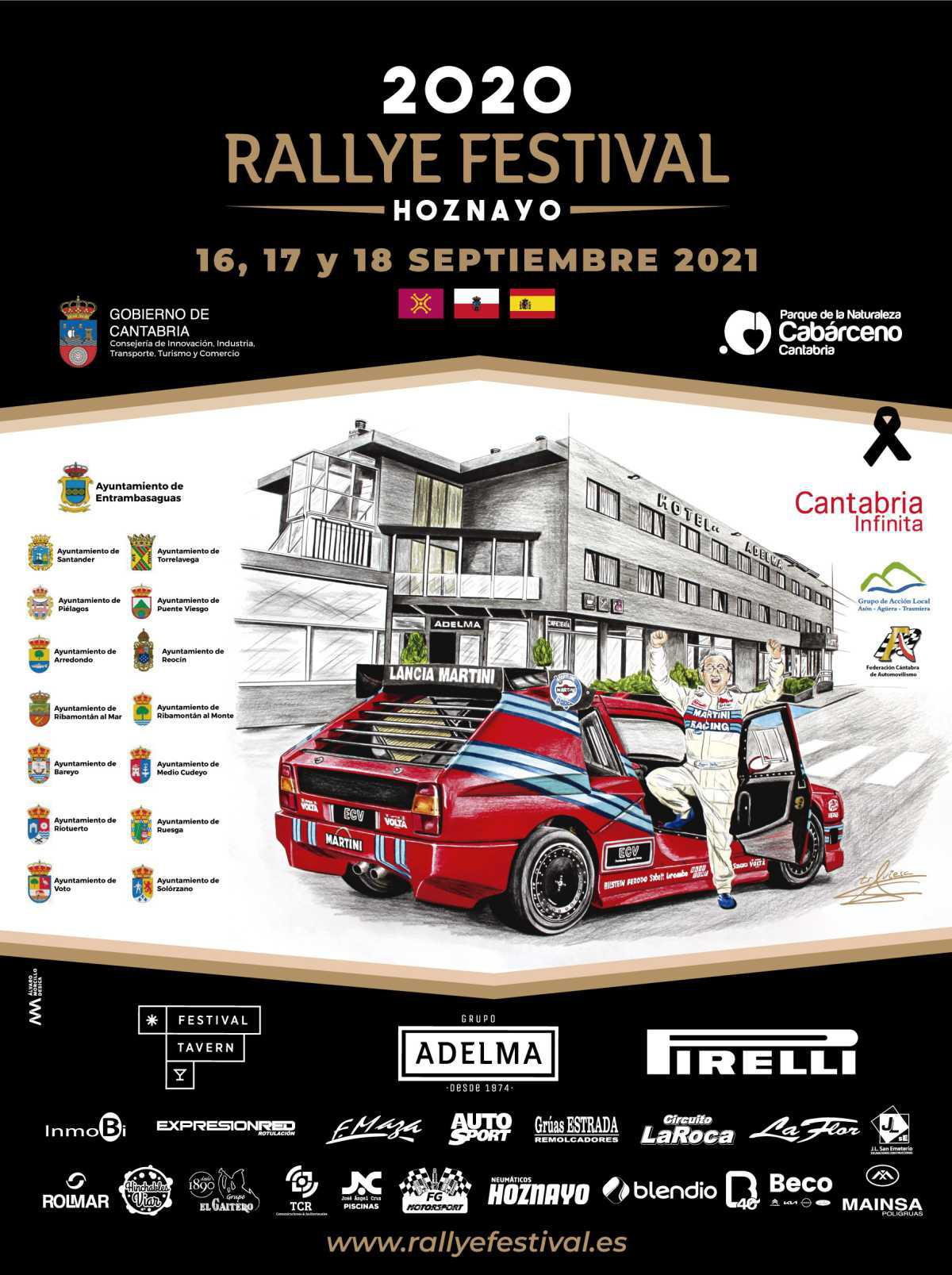 El Rallye Festival Hoznayo presenta su cartel oficial