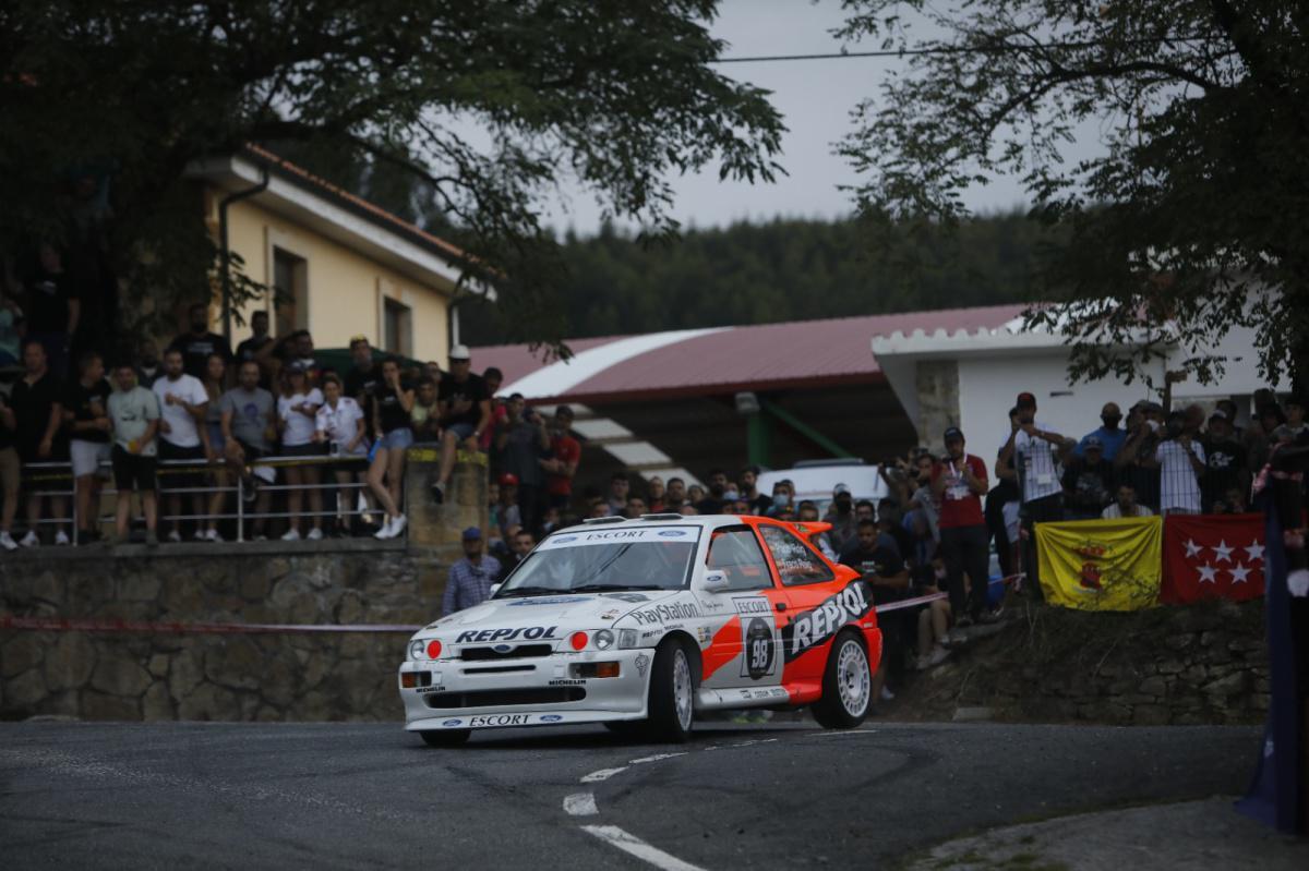 Jornada multitudinaria y de recuerdos en el Rallye Festival Hoznayo