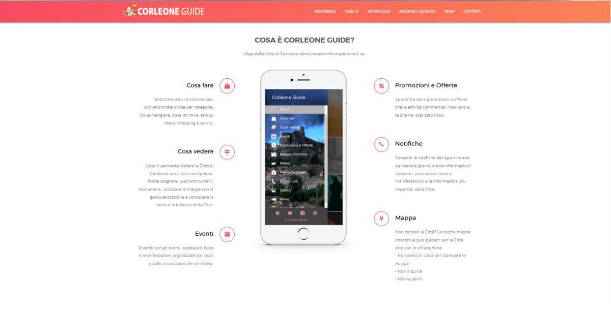 Corleone Guide: la prima app per visitare la città di Corleone