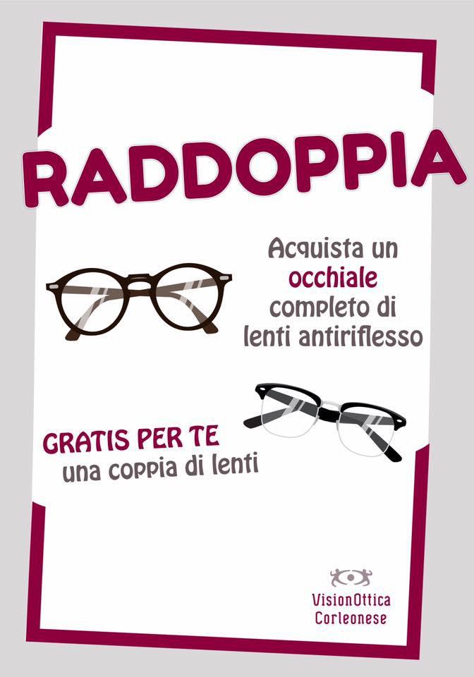 VisionOttica Corleonese RADDOPPIA
