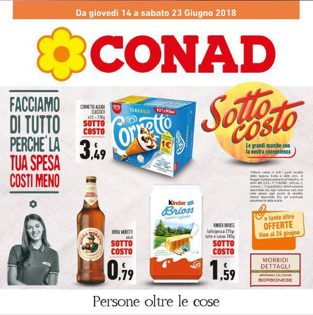 Volantino CONAD 14 - 23 Giugno