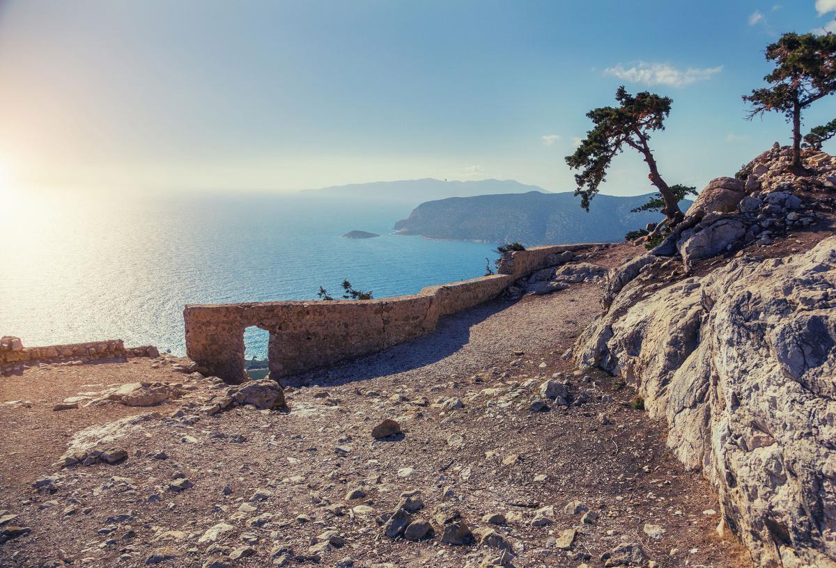 The Venetian castle of Monolithos