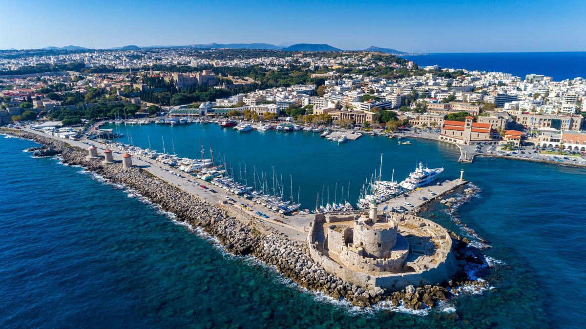 The colourful past of Rhodes