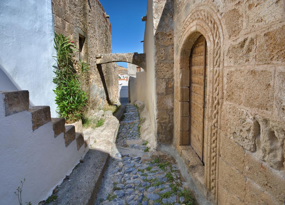 Lindos Village