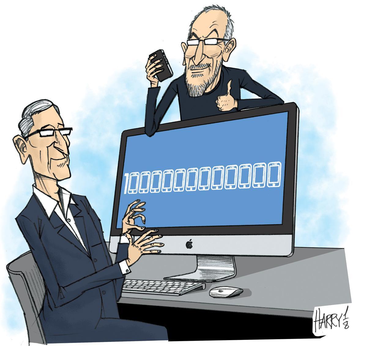 Harry's impression: Apple reaches US$1 trillion in market value