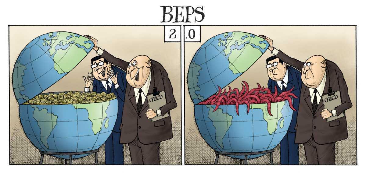 Harry's impression: OECD to tax tech giants