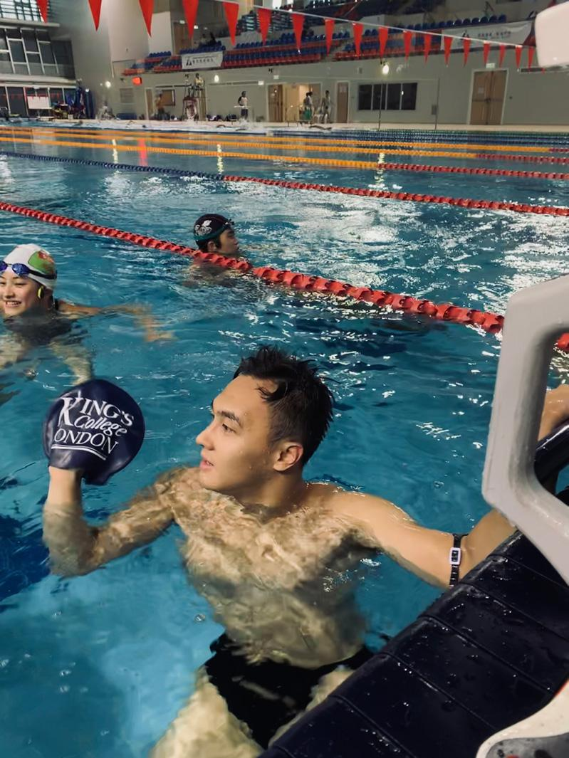 Swimming to victory