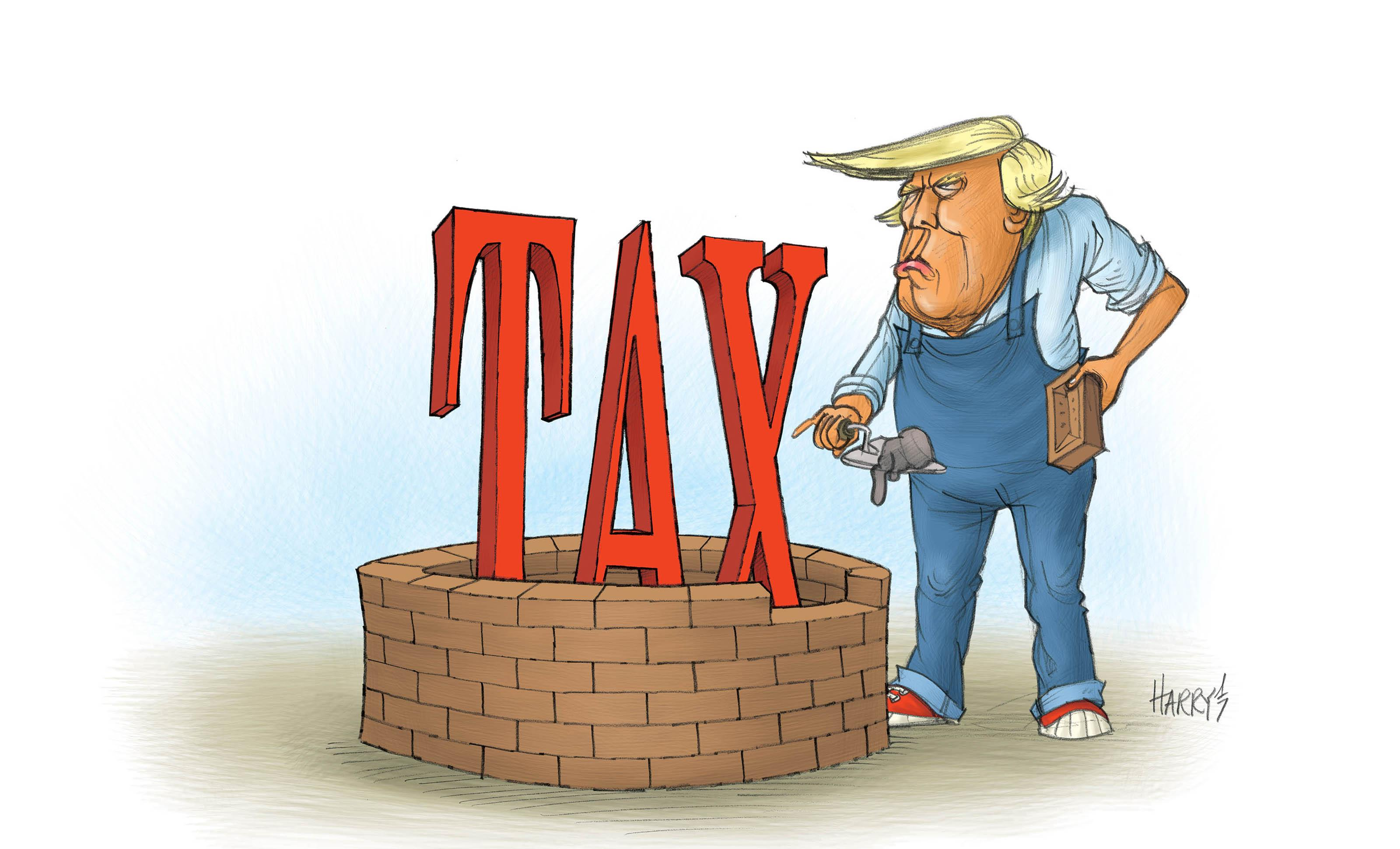 Trump's first 100 days to include tax reform