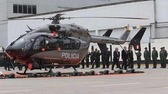 Detienen al Director de la Aviación Policial por presuntas irregularidades en la compra de mascarillas