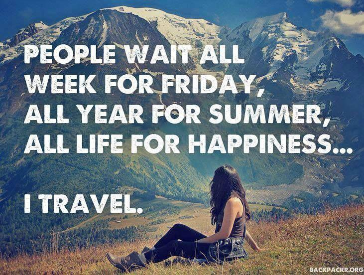 Travel Quote - 18th of July 2017