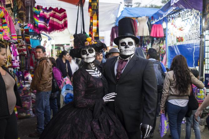 celebrations often start on october 31 the three days of festivities are collectively referred to as day of the dead