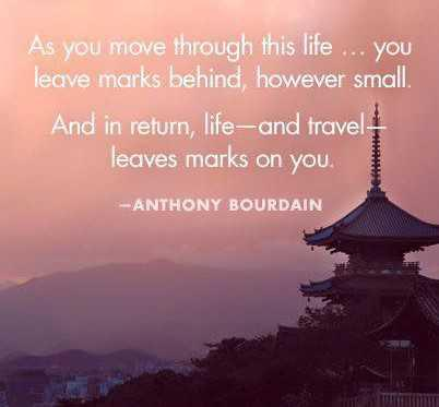 Travel Quote - 28th of August 2017