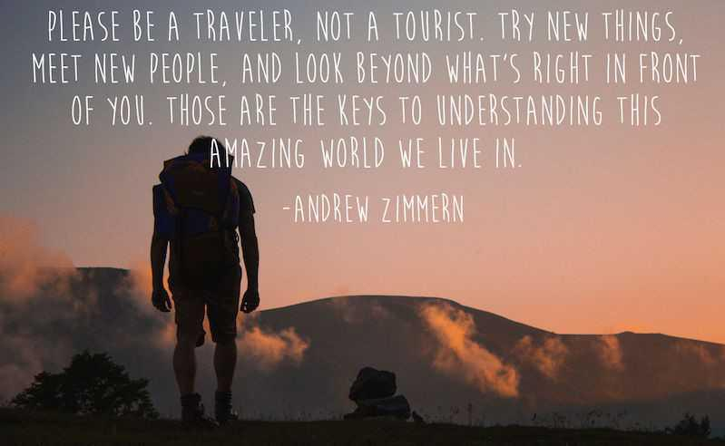Travel Quote - 29th of September 2017