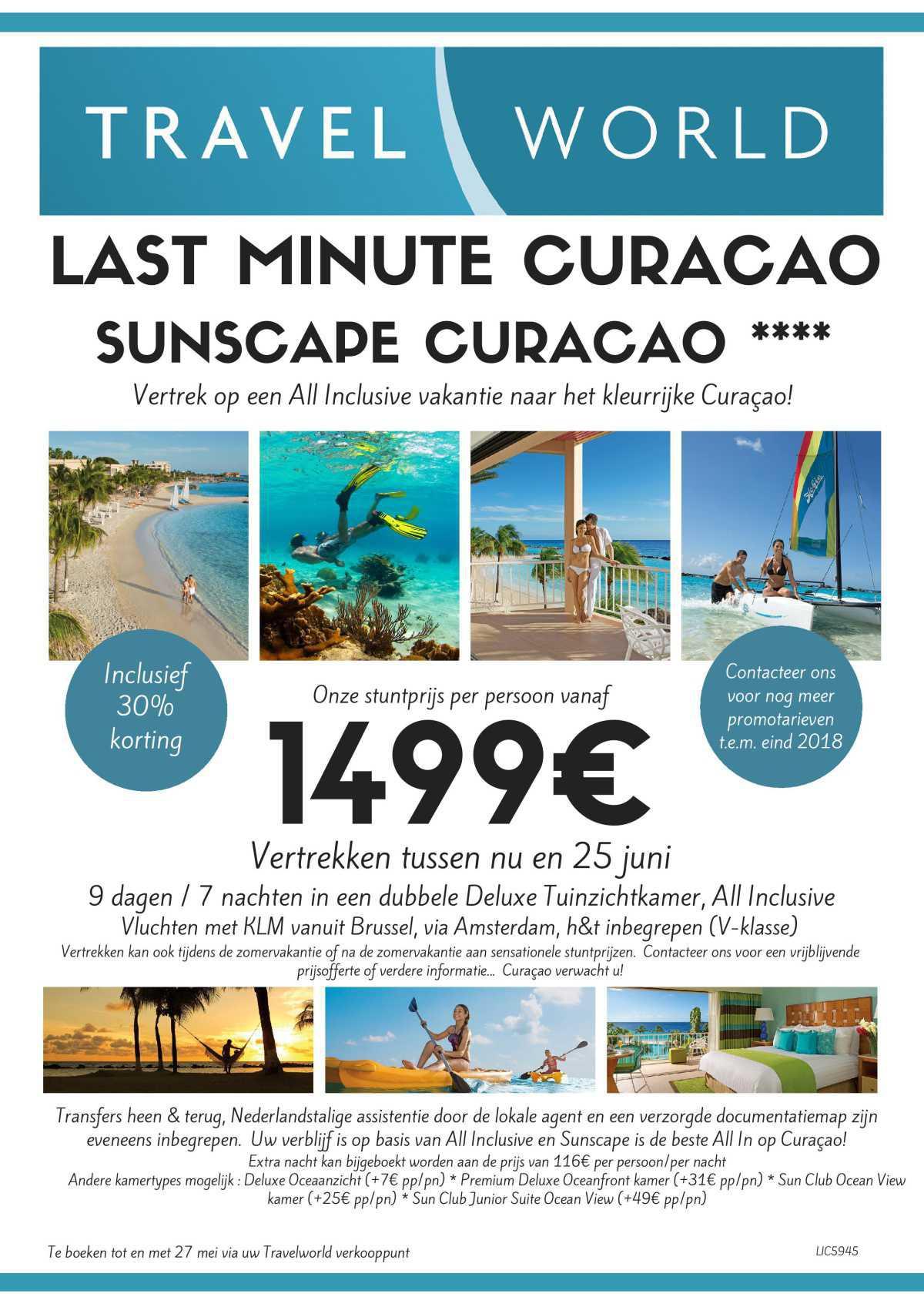 Paradijslijke Last Minute Super Deals !!