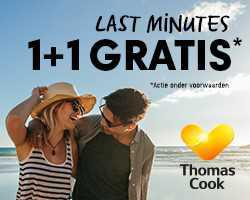 Travel Flash - Last Minutes: laatste dagen '1+1 GRATIS'!