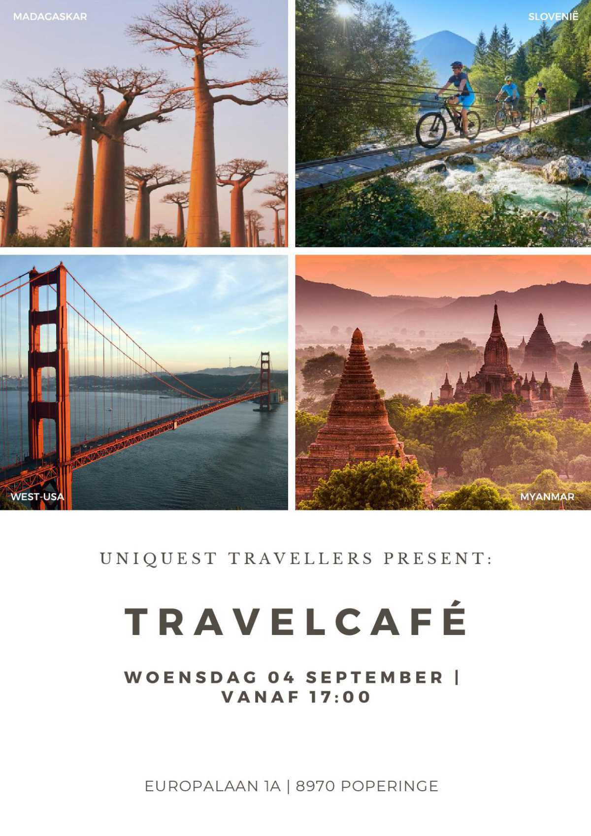 UniQuest Travel Cafe - 04/09/2019