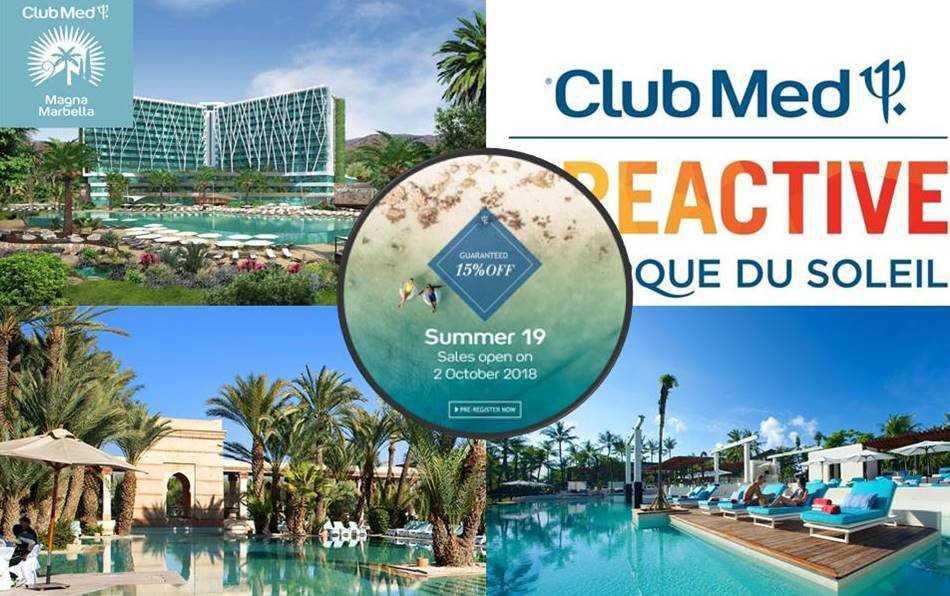 Travel Flash - Club Med Early Sales - Super korting van 15%