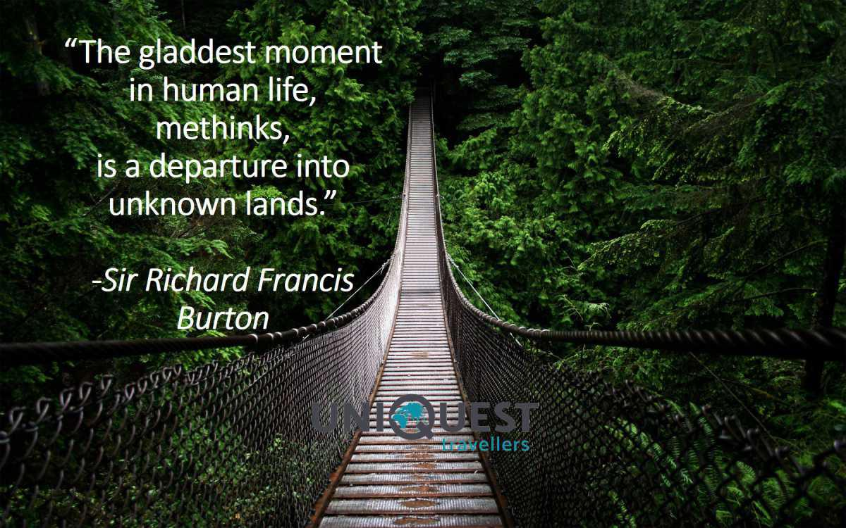 Travel Quote - 2nd of November 2018