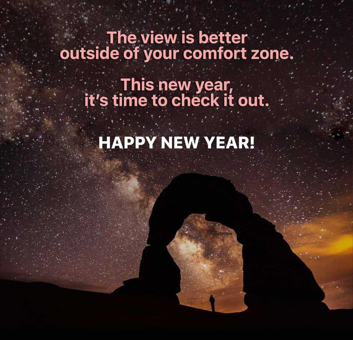 Happy New Year !! In het buitenland vieren ze dat zo .....