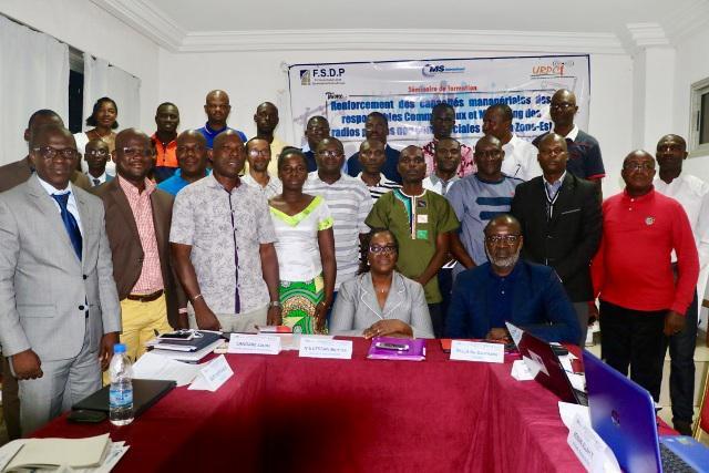 Cote d'Ivoire – Des agents de radios formés grâce au FSDP