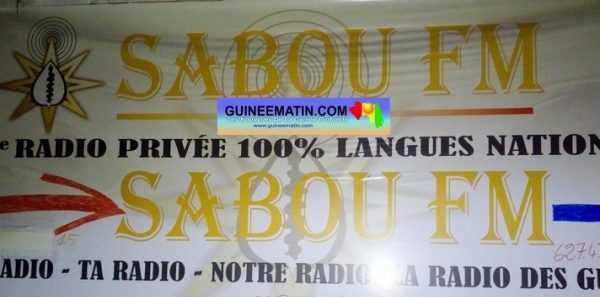Guinée – Sabou Fm part en fumée