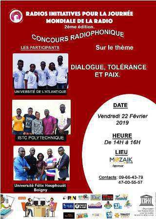 """Côte d'Ivoire – Lancement de la 2ème édition du concours ''Radios Initiatives pour la Journée Mondiale de la Radio """""""