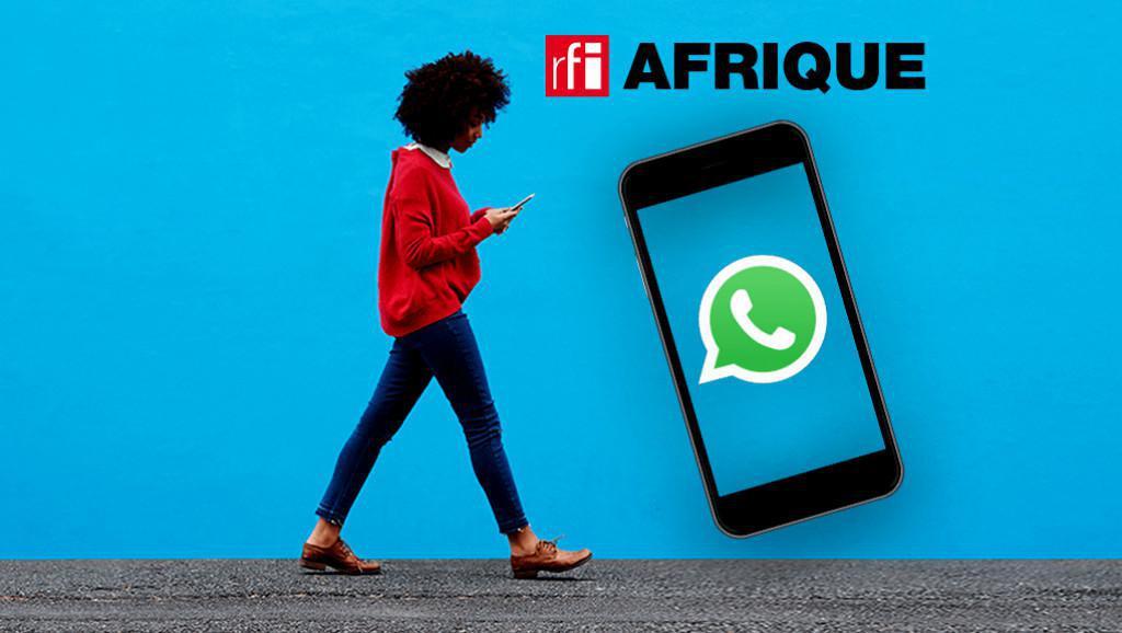 RFI - lancement d'une application WhatsApp dédiée à l'actualité africaine