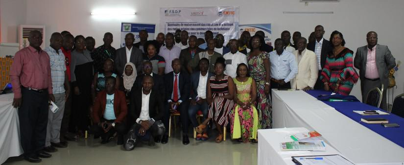 Côte d'Ivoire – Les acteurs des radios privées non commerciales outillés par le FSDP