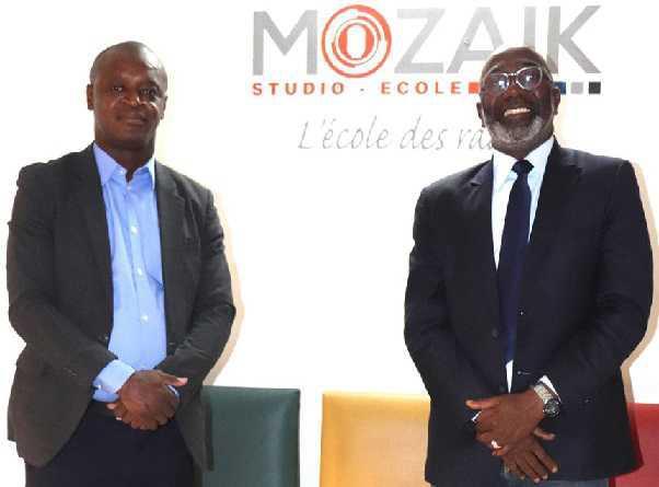 Cote d'Ivoire - partenariat entre Studio Mozaik et Afriqueactu.radio