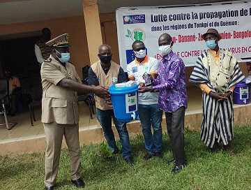 Cote d'Ivoire – Radio Ouest Fm lance un projet de lutte contre la Covid – 19