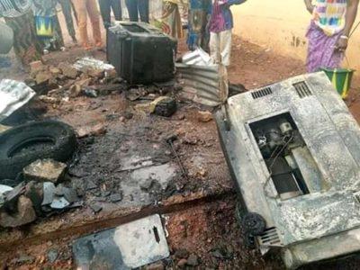 Guinée Conakry – Incendie à Milo Fm