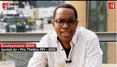 Prix RFI Théâtre – l'auteur guinéen Souleymane Bah remporte l'édition 2020