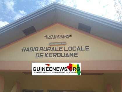 Guinée Conakry – la radio de Kérouané réduite au silence par la foudre