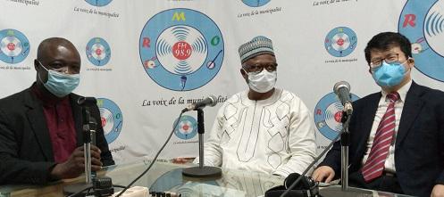 Burkina Faso - la Chine offre du matériel à la radio municipale de Ouagadougou