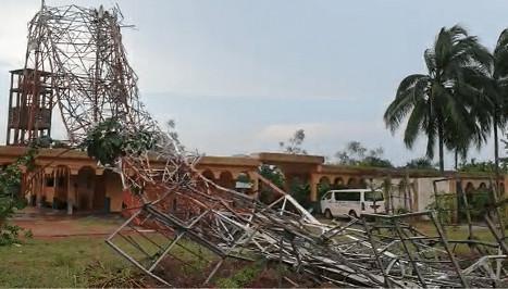 Bénin – l'antenne de la Radio Immaculée Conception s'est effondrée