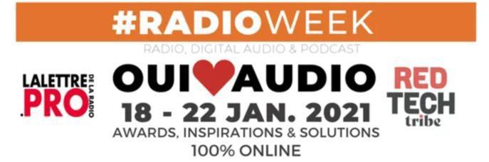 SALON DE LA RADIO – UNE RADIOWEEK EN LIEU ET PLACE DE L'EDITION 2021