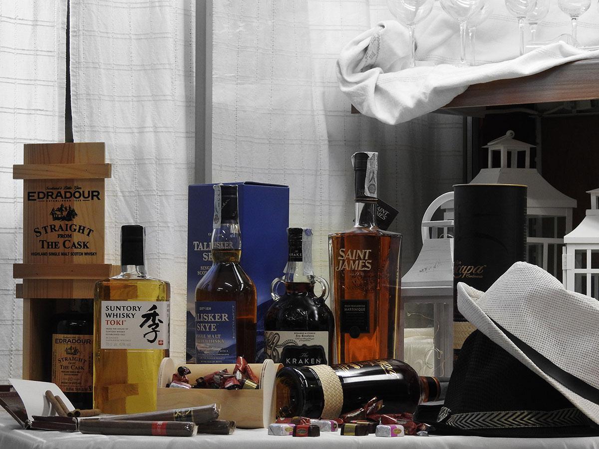 Allietare i vostri eventi con i corner rum di Spirito di Vino