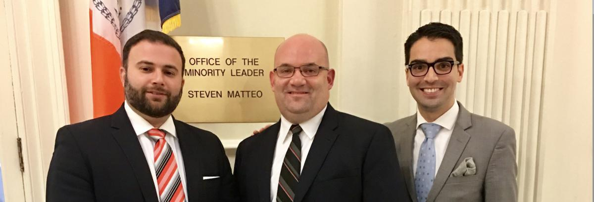Matteo Re-Elected Minority Leader