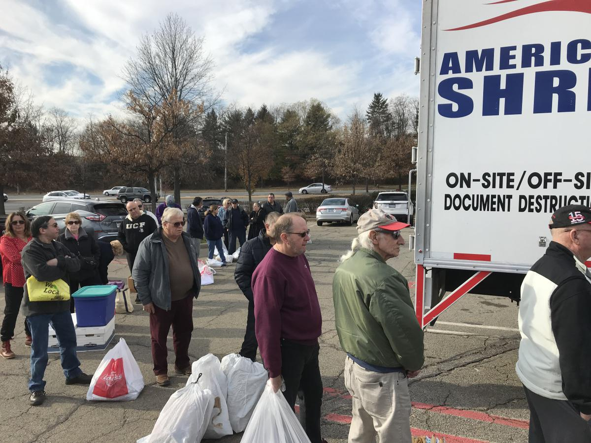 Successful Secure Shred Event Hosted by Cusick and Lanza