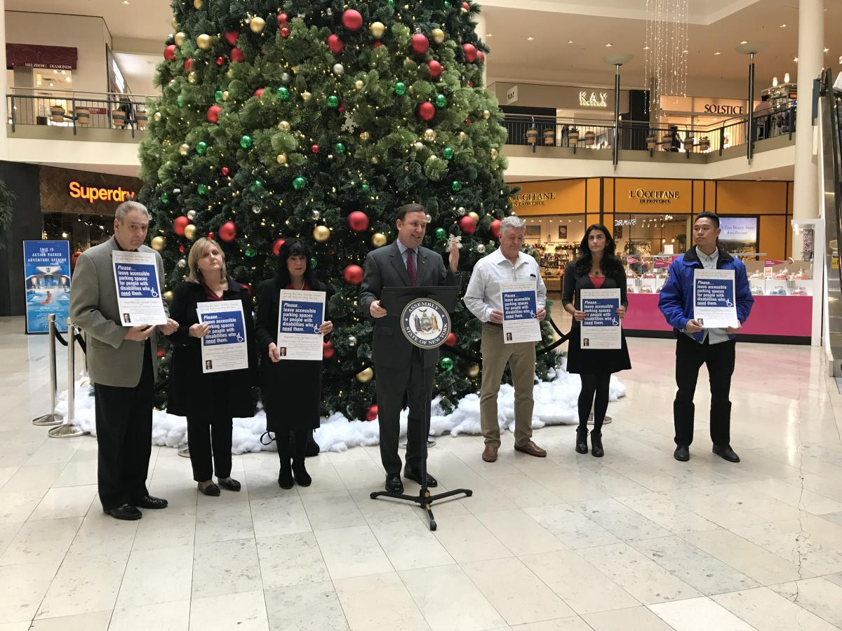 Disabled Parking Task Force Kicks Off Annual Campaign