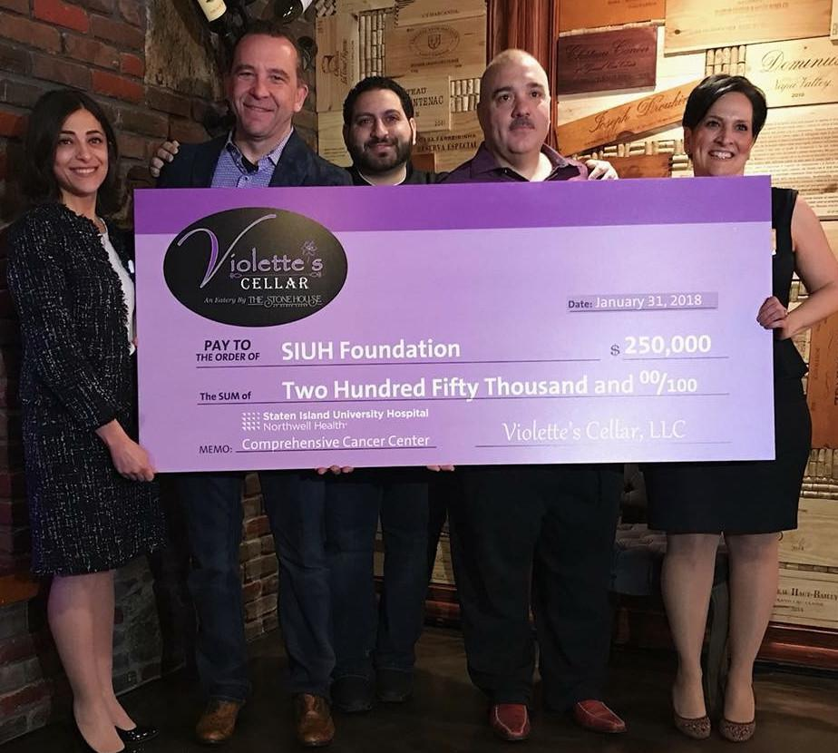 Violette's Cellar Supports SIUH Cancer Center