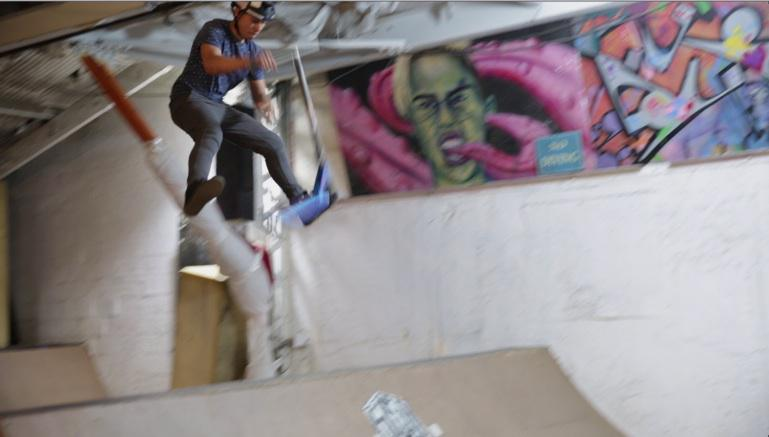 SIUH trauma expert talks helmet safety, brain injuries at 5050 Skatepark