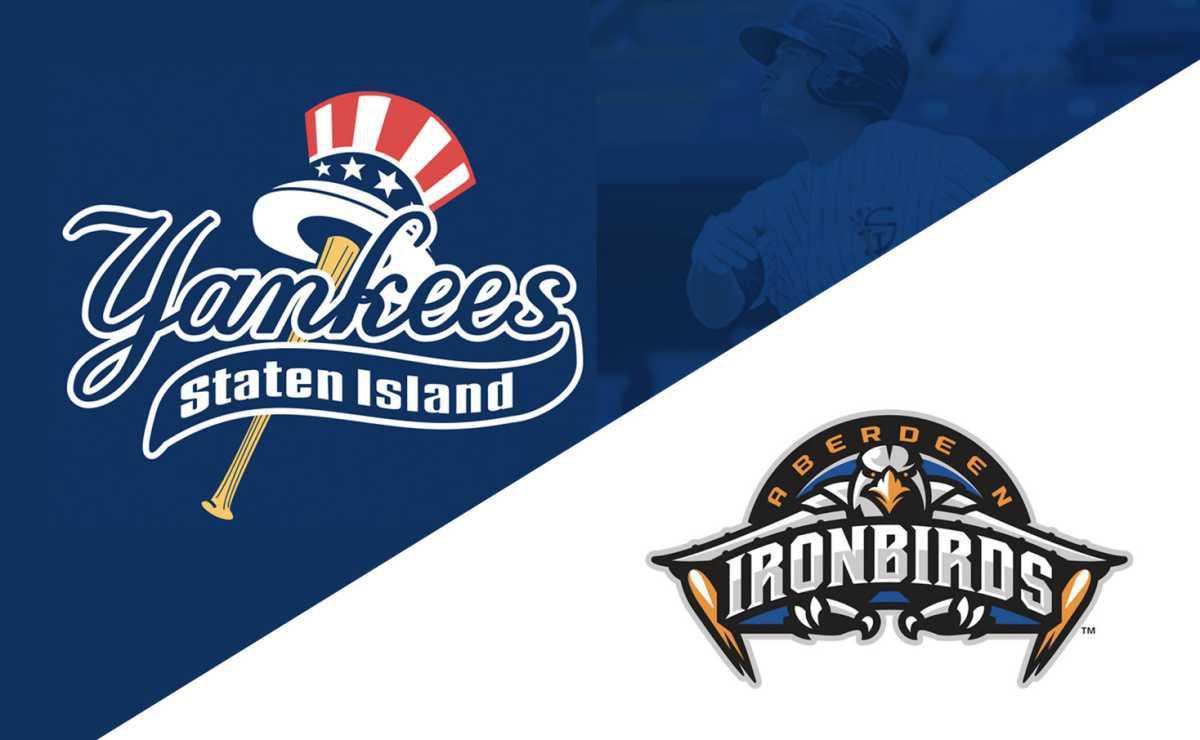 Staten Island Yankees vs Aberdeen IronBirds