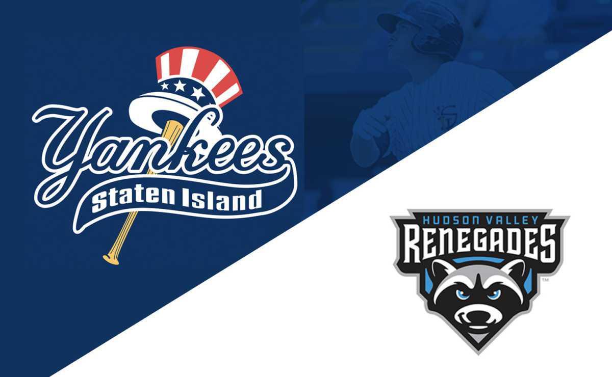 Staten Island Yankees vs Hudson Valley Renegades
