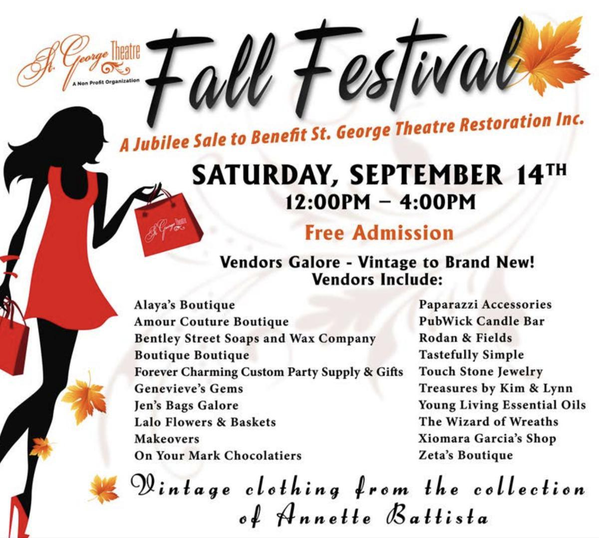 Fall Festival – Vendor Sale & More