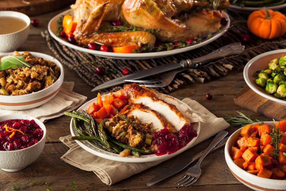 Lorenzo's Thanksgiving Dinner